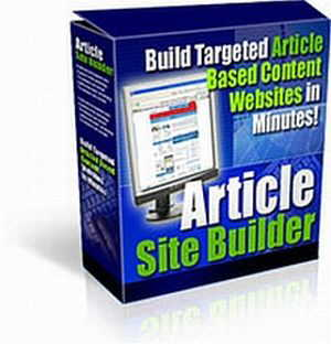 Pay for Article Maker: Article Site Builder Script-Tool