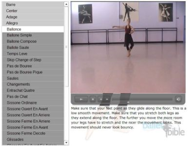 Pay for Ballet Dance Videos: The Complete Ballet Bible Package