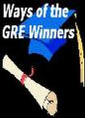 Pay for GRE Preparation: Ways of the GRE Winners