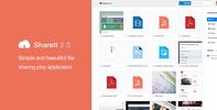 Thumbnail ShareIt 2.0 - a file sharing script