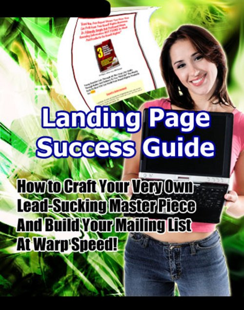 Pay for Landing Page Success Guide - Master Resale Rights