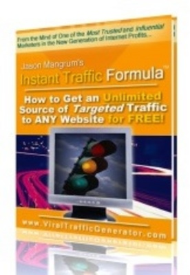 Pay for INSTANT TRAFFIC FORMULA