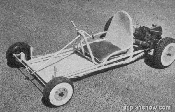 Vintage Old School Go-Kart Plans