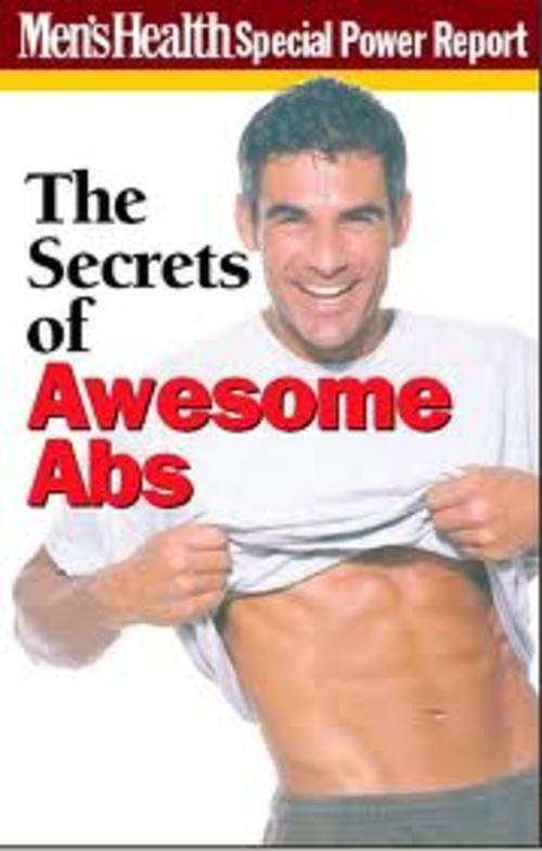Pay for Mens Health - The Secrets of Awesome Abs