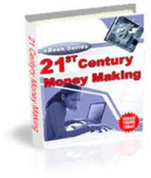 Pay for 21st CENTURY MONEY MAKING $ WORK FROM HOME EBOOK + RESELL RIGHTS!!!