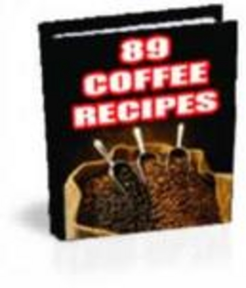 Pay for 89 Original Coffee Recipes + RESELL RIGHTS!!!