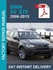 Thumbnail BMW X5 E70 2006 - 2013 WORKSHOP SERVICE REPAIR MANUAL