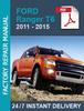Thumbnail Ford Ranger T6 2011-2015 workshop repair manual +Wiring