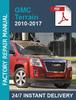 Thumbnail Gmc Terrain 2010-2017 service workshop repair manual