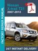 Thumbnail Nissan Xtrail X-trail T31 2007-2013 Service Workshop repair
