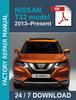 Thumbnail Nissan Xtrail X-trail T32 2013-2019 Service Workshop repair