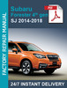Thumbnail Subaru Forester 4th gen SJ 2014-2018 workshop repair manual
