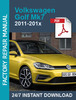 Thumbnail Volkswagen VW Golf Mk7 +GTI 2011-201x Service Workshop repai