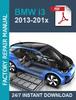 Thumbnail BMW i3 Workshop 2013-201x Service Repair Manual