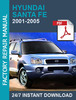 Thumbnail Hyundai Santa Fe 2000 2001 2002 2003 2004 2005 2006 Workshop