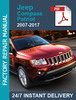 Thumbnail JEEP COMPASS PATRIOT 2007-2017 Service Workshop Manual +Wiri