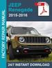 Thumbnail Jeep Renegade 2015 2016 1.6L 2.0L 2