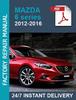 Thumbnail Mazda 6 2012 2013 2014 2015 2016 service workshop repair man