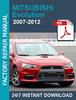 Thumbnail MITSUBISHI LANCER EVO EVOLUTION X 2007 2008 2009 2010 2011 2