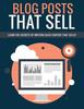 Thumbnail Blog Posts That Sell