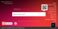 Thumbnail Metro Shrink   Url Shortener service