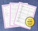 Thumbnail Planning A Baby Shower Checklists - Pink