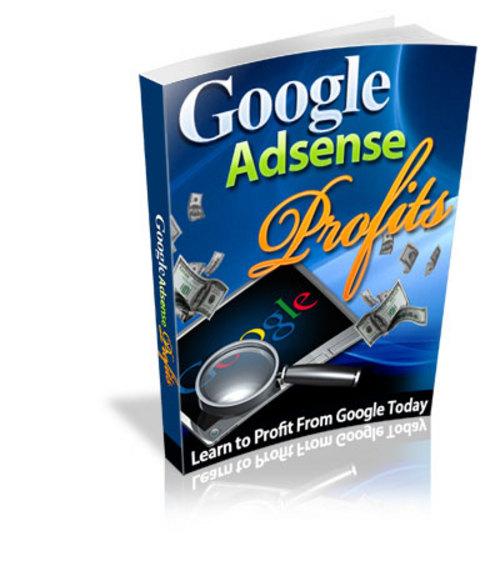 Pay for Google Adsense Profits-W/MRR