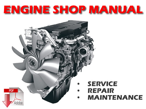 Pay for Komatsu 3D 4D S4D Cursor Engine Service Manual Download