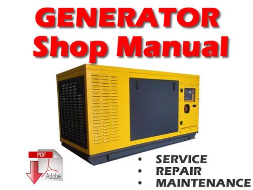 Free Komatsu EG150B-5 Engine Generator Service Repair Manual PDF Download thumbnail