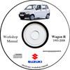 Thumbnail WORKSHOP MANUAL SUZUKI WAGON R 1993-2008