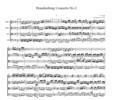 Thumbnail Bach Brandenburg Concerto No.2, all mvts., BWV1047