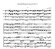 Thumbnail Bach Brandenburg Concerto No.5, all mvts., BWV1050, CB215