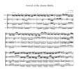 Thumbnail Handel Arrival of the Queen Sheba, for string quartet, CH102
