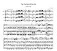 Thumbnail Rossini Overture to The Barber of Seville, CR101