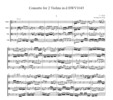 Thumbnail Bach Concerto for 2 Violins in d BWV1043, CB224