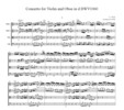 Thumbnail Bach Concerto for Violin and Oboe in d BWV1060, CB225