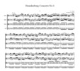 Thumbnail Bach Brandenburg Concerto No.6, all mvts. for 3 Violas, Vc