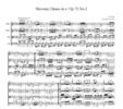 Thumbnail Dvorak Slavonic Dance Op.72, No.2, for string quartet, CD206