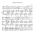 Thumbnail Brahms  Hungarian Dance No.5, for piano trio, PB101