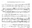 Thumbnail Bach from Brandenburg Concerto No.3, 1st mvt., PB005