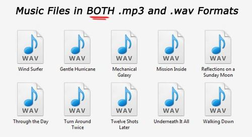 Pay for Huge List of ROYALTY FREE music with PLR