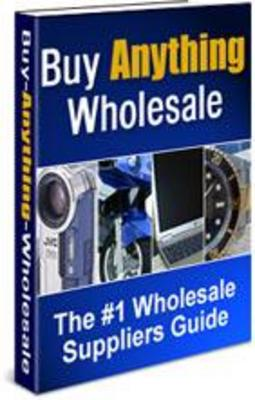 Pay for Buy Anything Wholesale