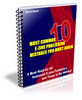Thumbnail 10 Most Common E-Zine Publishing Mistakes - plr