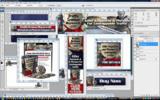 Thumbnail Minisite Template PSD - Traffic Armour Keywords