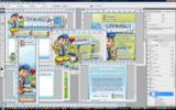 Thumbnail Minisite Template PSD - Cpanel 4 Newbies