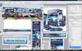 Thumbnail Minisite PSD Template Graphics - Lead Generator Pro