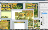 Thumbnail Minisite Template PSD Graphic - Secret Sales Affiliate