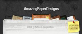 Thumbnail Premium Minisite Templates - 7 Beautiful Paper Inspired