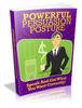 Thumbnail Powerful Persuasion Posture - MRR+Free Bonus