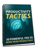 Thumbnail Productivity Tactics+Free Bonus